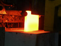 Heating Steel Slab
