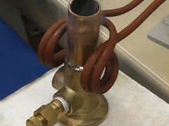 Soldering Copper Pipe to Brass