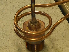 Brazing Copper Pipe to Brass