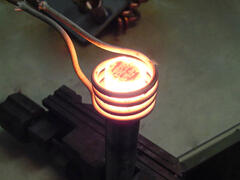 Induction Heating Steel Bar for Hot Heading