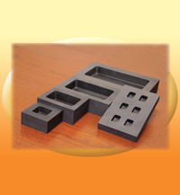 Graphite Melting Molds - Graphite Ingot Molds