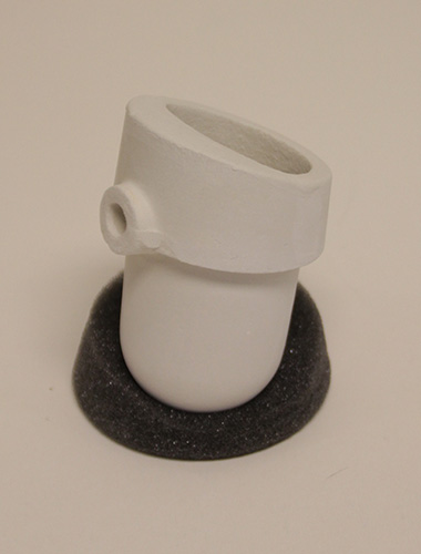 D44 PT Nose Ceramic Crucible