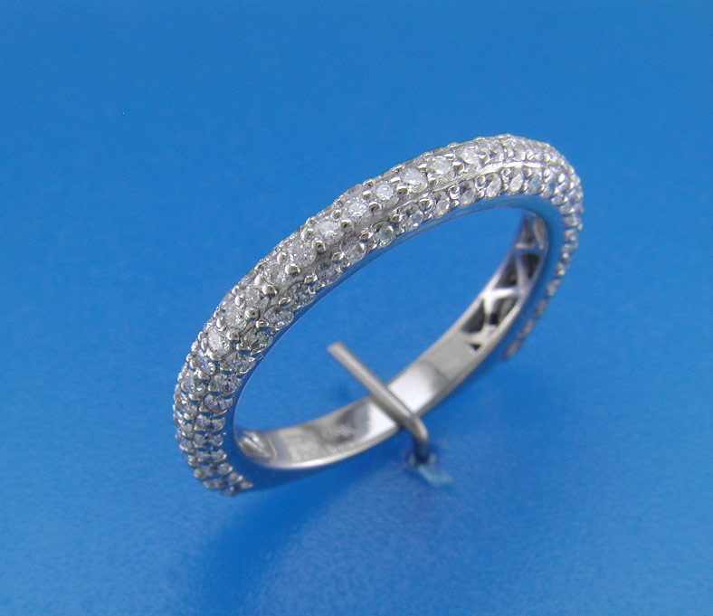 Platinum Ring Casting