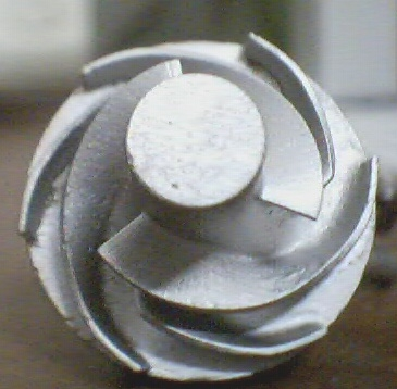 Turbine Blade for Industrial Casting